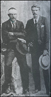 BNPS.co.uk (01202) 558833Pic: DNW/BNPS<br /> <br /> Engine fireman Alexander Stewart (R) and train driver Charles Wagner both tried to save the future Prime Minister.<br /> <br /> A bravery medal awarded at the behest of Winston Churchill to a train driver who tried to save the future Prime Minister from being captured during the Boer War has come to light.<br /> <br /> A young Churchill roused wounded driver Charles Wagner and engine firemen Alexander Stewart into action after their armoured train was attacked and derailed by enemy soldiers.<br /> <br /> Churchill, then a newspaper war correspondent, talked Wagner out of fleeing the scene and remain in his engine cab in order to clear the blocked line.<br /> <br /> Although he was captured, Churchill later escaped and insisted both men be awarded the Albert Medal.