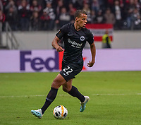 Timothy Chandler (Eintracht Frankfurt) - 19.09.2019:  Eintracht Frankfurt vs. Arsenal London, UEFA Europa League, Gruppenphase, Commerzbank Arena<br /> DISCLAIMER: DFL regulations prohibit any use of photographs as image sequences and/or quasi-video.