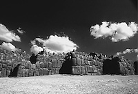 Sacsayhuaman Killke Civilization Wall Complex Fortress Built Hundreds of Years Before THe Inca C. 900-1200 AD. Peru