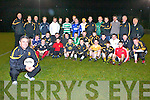 Manager Harry O'Neill and his Crokes squad at their press night............