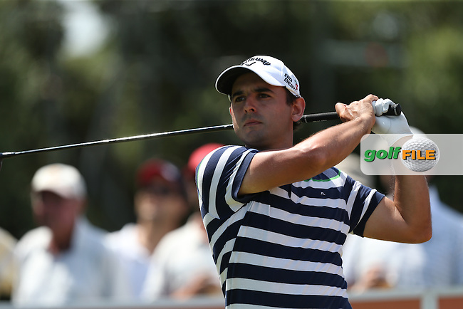 Fabrizio Zanotti (PAR) fell back behind the leaders with a 68 during Round Three of The Africa Open 2014 at the East London Golf Club, Eastern Cape, South Africa. Picture:  David Lloyd / www.golffile.ie