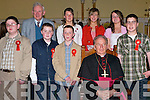 Pupils of Killury NS who were confirmed by Bishop Bill Murphy at St. John's Church, Causeway, on Thursday afternoon.   Copyright Kerry's Eye 2008