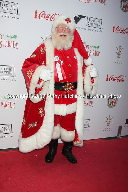 Tim Connaghan, Santa Claus of the Parade.arriving at the 2009 Hollywood Christmas Parade .Hollywood Roosevelt Hotel.Los Angeles,  CA.November 29, 2009.©2009 Kathy Hutchins / Hutchins Photo.