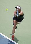 August  19, 2017:  Garbine Muguruza (ESP) defeated Karolina Pliskova (CZE) 6-3, 6-2, in the semifinals at the Western & Southern Open being played at Lindner Family Tennis Center in Mason, Ohio. ©Leslie Billman/Tennisclix/CSM