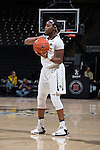Amber Campbell (2) of the Wake Forest Demon Deacons during first half action against the North Carolina State Wolfpack at the LJVM Coliseum on January 8, 2017 in Winston-Salem, North Carolina.  The Wolfpack defeated the Demon Deacons 65-50.  (Brian Westerholt/Sports On Film)