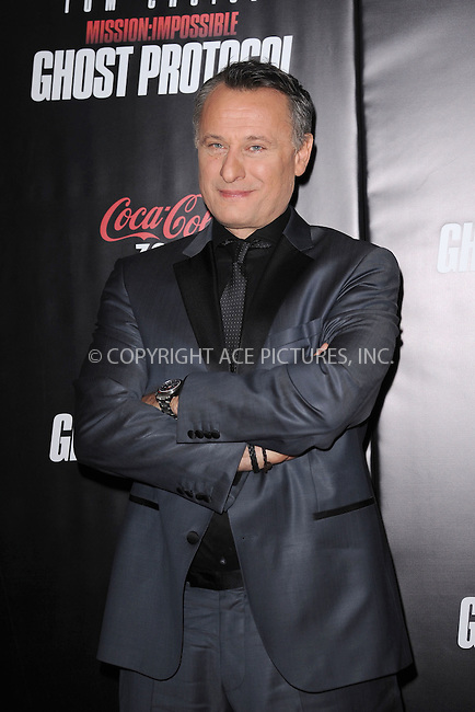 WWW.ACEPIXS.COM . . . . . December 19, 2011...New York City....Michael Nyqvist attends the 'Mission: Impossible - Ghost Protocol' U.S. premiere at the Ziegfeld Theatre on December 19, 2011 in New York City....Please byline: KRISTIN CALLAHAN - ACEPIXS.COM.. . . . . . ..Ace Pictures, Inc: ..tel: (212) 243 8787 or (646) 769 0430..e-mail: info@acepixs.com..web: http://www.acepixs.com .