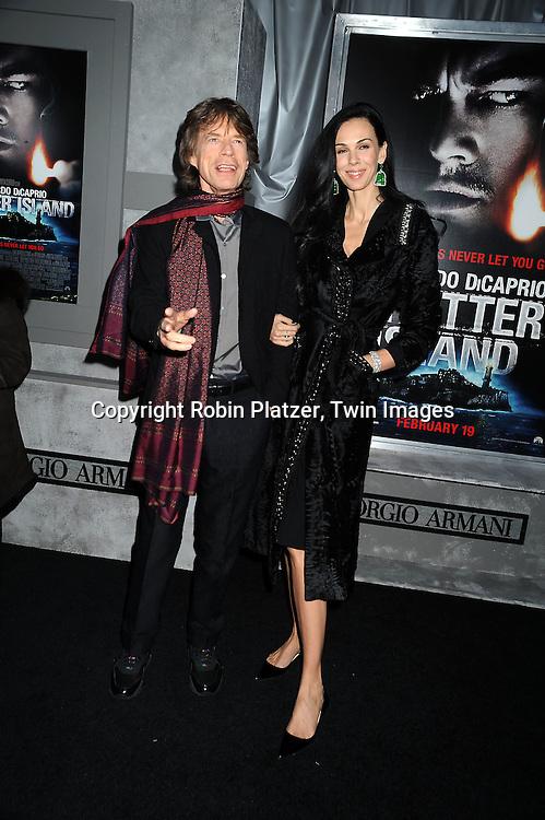 Mick Jagger and girlfriend L'Wren Scott