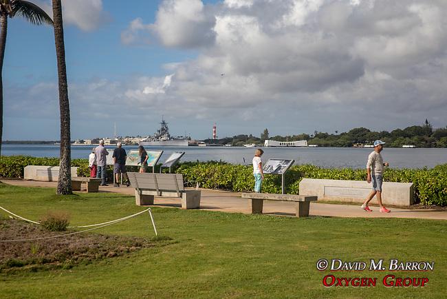 USS Arizona And The USS Missouri, Pearl Harbor, Pearl Harbor