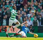 29.04.18 Celtic v Rangers: Oliver Ntcham and Jason Holt
