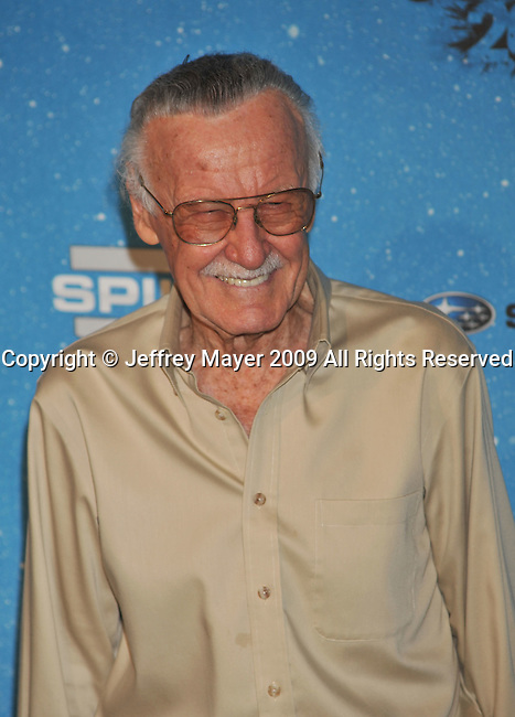 LOS ANGELES, CA. - October 17: Stan Lee arrives at Spike TV's Scream 2009 held at the Greek Theatre on October 17, 2009 in Los Angeles, California.