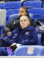20191116 – LYON ,  FRANCE ; Lyon's  Janice Cayman is pictured before thewomen's soccer game between Olympique Lyonnais and PARIS SG on the 9th matchday of the French Women's first league , D1 of the 2019-2020 season , Saturday 16 th November 2019 at the Groupama stadium in Lyon , France . PHOTO SPORTPIX.BE   SEVIL OKTEM