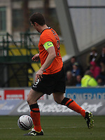 Jon Daly in the St Mirren v Dundee United Clydesdale Bank Scottish Premier League match played at St Mirren Park, Paisley on 27.10.12.