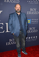 LOS ANGELES, CA. October 29, 2018: Victor McCay at the Los Angeles premiere for &quot;Boy Erased&quot; at the Directors Guild of America.<br /> Picture: Paul Smith/Featureflash