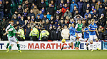 Lewis Stevenson's shot takes a deflection and end up in the net