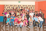 Mary Browne, seated centre in pink, from Ballyheigue celebrated her 21st birthday with family and friends at The White Sands Hotel Ballyheigue on Friday night...   Copyright Kerry's Eye 2008