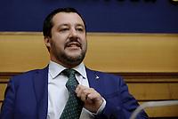 Matteo Salvini su decreto terremoto