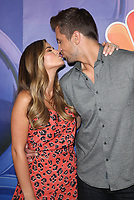 BEVERLY HILLS, CA - AUGUST 8: JoJo Fletcher and Jordan Rodgers at the 2019 NBC Summer Press Tour at the Wilshire Ballroom in Beverly Hills, California o August 8, 2019. <br /> CAP/MPIFS<br /> ©MPIFS/Capital Pictures