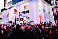 The new Microsoft's store is open at Times Square in New York, October 25, 2012. . Photo by Kena Betancur / VIEW.