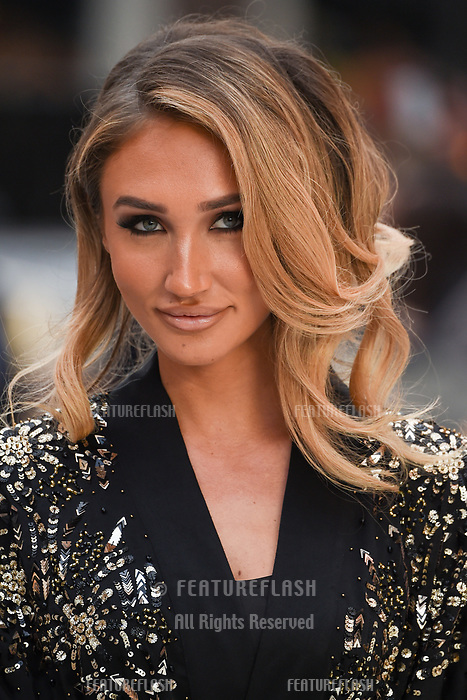 LONDON, UK. September 12, 2018: Megan McKenna at the World Premiere of &quot;King of Thieves&quot; at the Vue Cinema, Leicester Square, London.<br /> Picture: Steve Vas/Featureflash