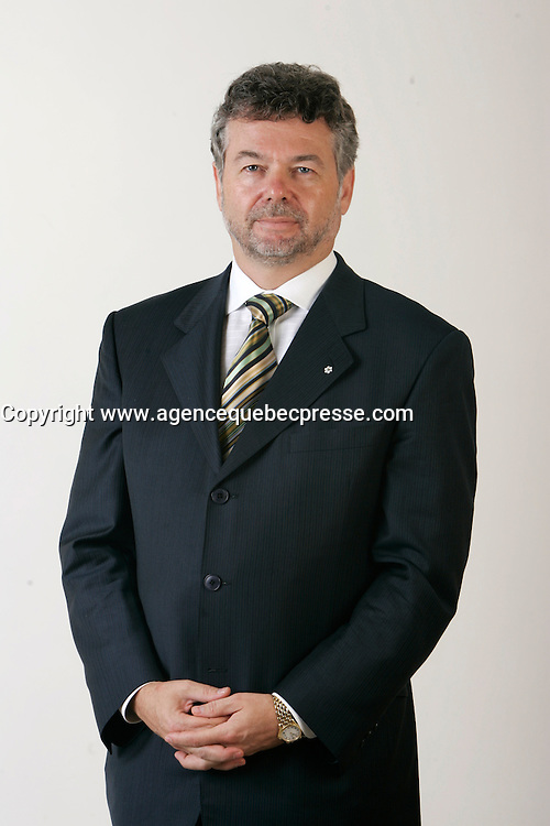 2005 File Photo - Exclusive Photo<br /> Charles Sirois<br /> Photo : (c) 2005 Images Distribution