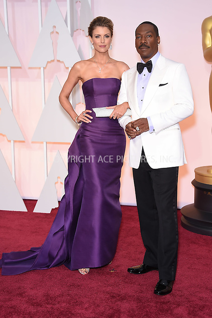 WWW.ACEPIXS.COM<br /> <br /> February 22 2015, LA<br /> <br /> Eddie Murphy and Paige Butcher arriving at the 87th Annual Academy Awards at the Hollywood &amp; Highland Center on February 22, 2015 in Hollywood, California<br /> <br /> <br /> By Line: Z15/ACE Pictures<br /> <br /> <br /> ACE Pictures, Inc.<br /> tel: 646 769 0430<br /> Email: info@acepixs.com<br /> www.acepixs.com