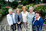Tralee Flower Club members, pictured at the Meadowlands Hotel, Tralee who were celebrating 35 years on Friday last were l-r: Vera O'Connor, Mary Holly Kathleen Ambrose Eileen Phelan and Margaret Groves.