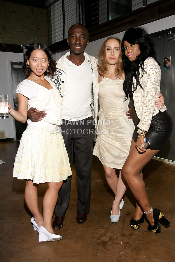 Guests at the Neodandi Spring 2013 fashion show after party, during New York Fashion Week, September 13, 2012.