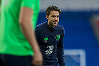 Harry Arter during Republic of Ireland training ahead of the World Cup Qualification match against Wales at Cardiff City Stadium, Cardiff, Wales on 8 October 2017. Photo by Mark  Hawkins.