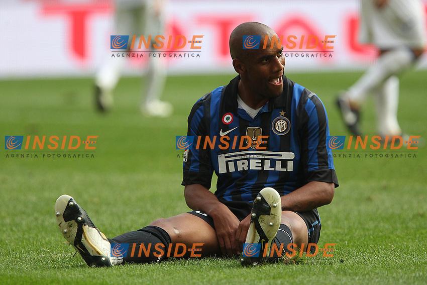 Douglas Maicon Inter.Milano 23/10/2011 Stadio S.Siro.Football Calcio Serie A 2011-12.Inter vs Chievo .Foto Insidefoto Paolo Nucci