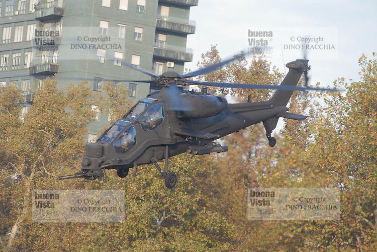 - Italian Army, A 129 &quot;Mangusta&quot; antitank attack helicopter<br /> <br /> - Esercito Italiano, elicottero da combattimento anticarro A 129 &quot;Mangusta&quot;