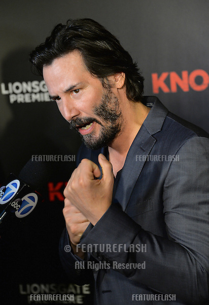 Actor Keanu Reeves at the Los Angeles premiere of his movie &quot;Knock Knock&quot; at the TCL Chinese Theatre, Hollywood.<br /> October 7, 2015  Los Angeles, CA<br /> Picture: Paul Smith / Featureflash