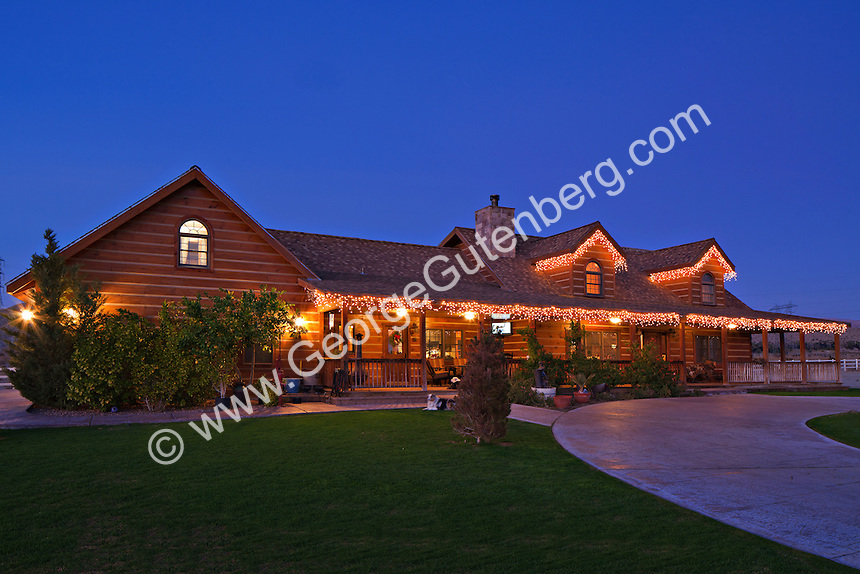 Stock photo of Equestrian ranch in Thousand Palms, California
