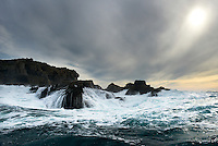 Surf around Shipman Head, Bryher, Isles of Scilly, UK