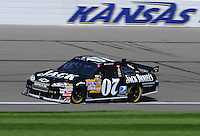 Sept. 27, 2008; Kansas City, KS, USA; Nascar Sprint Cup Series driver Clint Bowyer during practice for the Camping World RV 400 at Kansas Speedway. Mandatory Credit: Mark J. Rebilas-