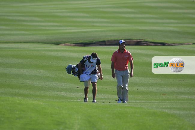 Edoardo Molinari (ITA) on the second day of the DUBAI WORLD CHAMPIONSHIP presented by DP World, Jumeirah Golf Estates, Dubai, United Arab Emirates.Picture Denise Cleary www.golffile.ie