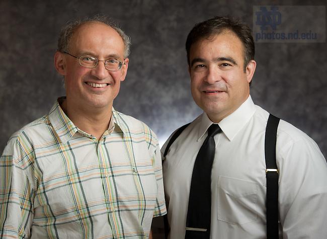 Jul. 13, 2012; Vittorio G. Hösle and Donald Stelluto..Photo by Matt Cashore/University of Notre Dame