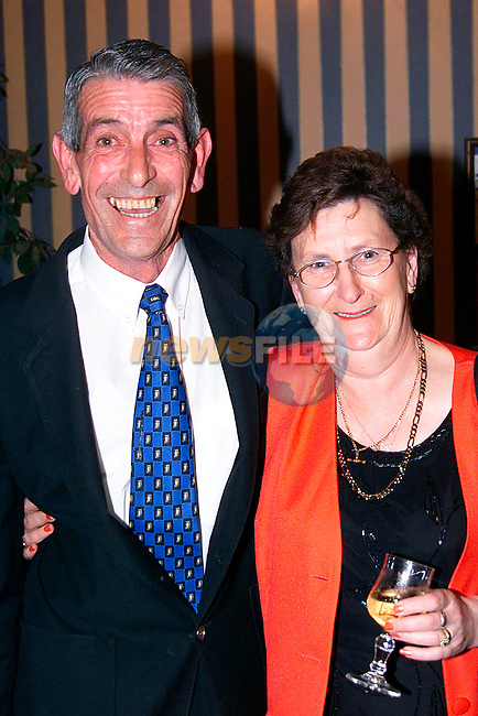 Nicholas Hamilton and Olive Cromwell at the Greenanstown School Reunion in the Europa Hotel..Picture: Paul Mohan/Newsfile
