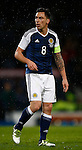 Scott Brown of Scotland during the Vauxhall International Challenge Match match at Hampden Park Stadium. Photo credit should read: Simon Bellis/Sportimage