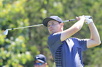 Harry Ellis (AM)(ENG) tees off the 15th tee during Thursday's Round 1 of the 118th U.S. Open Championship 2018, held at Shinnecock Hills Club, Southampton, New Jersey, USA. 14th June 2018.<br /> Picture: Eoin Clarke | Golffile<br /> <br /> <br /> All photos usage must carry mandatory copyright credit (&copy; Golffile | Eoin Clarke)