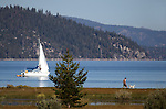 Images of Lake Tahoe from near Taylor Creek in South Lake Tahoe, Ca., on Friday, Sept. 23, 2011..Photo by Cathleen Allison