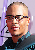 LOS ANGELES, CA, USA - JUNE 29: Rapper T.I. arrives at the 2014 BET Awards held at Nokia Theatre L.A. Live on June 29, 2014 in Los Angeles, California, United States. (Photo by Xavier Collin/Celebrity Monitor)