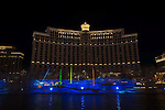 Japan Kabuki Festival Las Vegas 2016 kicks off with Water Screen Digital Show at The Fountains at Bellagio, April 29 2016