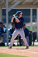 Atlanta Braves Riley Delgado (50) during a Minor League Spring Training game against the Detroit Tigers on March 22, 2018 at the TigerTown Complex in Lakeland, Florida.  (Mike Janes/Four Seam Images)