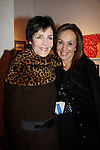 Rosanna Scotto with Linda Dano who gave her generous underwriting support to the ArtShare for HeartShare - 6th Annual - an exhibit featuring the Artworks of Artists with intellectual & developmental disabilities on November 6, 2014 at the New Century Artists Gallery, New York City, New York. HeartShare is honored to dedicate this evening to the Loving Memory of Vivien Stern, an ardent supporter of ArtShare, who lived life vibrantly and to the the fullest. We Truly will miss her. (Photos by Sue Coflin/Max Photos)