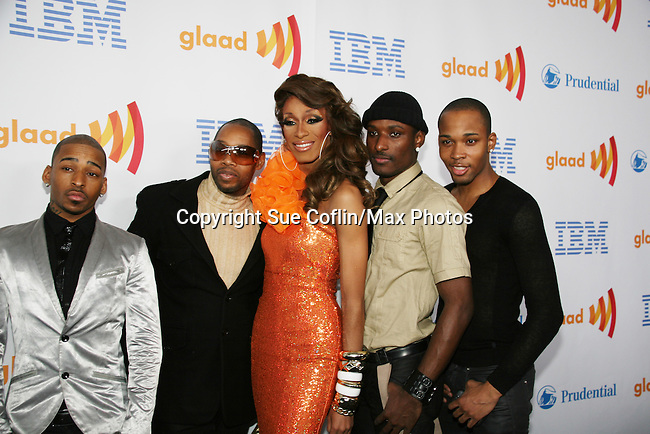 Saraha Davenport with Vogue Evolution at the 21st Annual GLAAD Media Awards on March 13, 2010 at the New York Marriott Marquis, New York City, NY. (Photo by Sue Coflin/Max Photos)