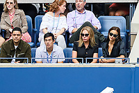 Irina Shayk watches the final between Rafael Nadal of Spain and Daniil Medvedev of Russia at Arthur Ashe Stadium at the USTA Billie Jean King National Tennis Center on September 08, 2019 in New York City. <br /> CAP/EL<br /> ©Elena Leoni/Capital Pictures