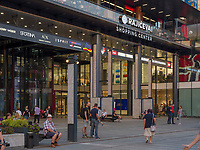 Fu&szlig;g&auml;ngerzone Knez Mihailova - Prinz-Michael-Stra&szlig;e, Belgrad, Serbien, Europa<br /> pedestrian area Knez Mihailova, Belgrade, Serbia, Europe