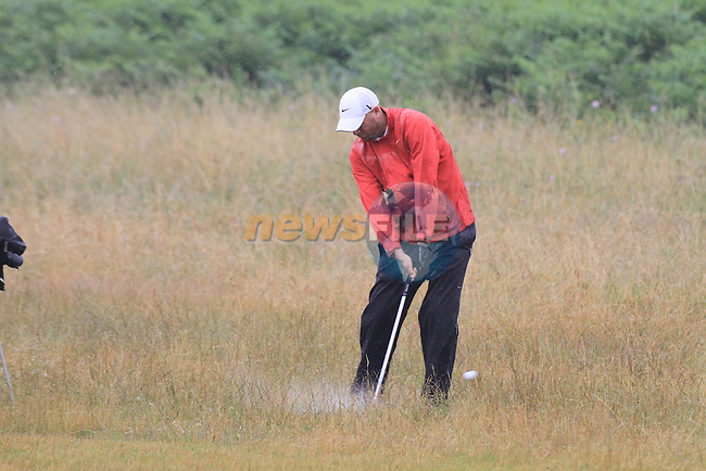 US PGStour Plaayer Stewart Cink on a practice round of golf in baltray ahead of him playing in the Open championship next week in st andrews..Picture Fran Caffrey/www.newsfile.ie