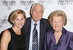 Kathleen Marshall, Garry Marshall, Barbara Marshall attends the Off-Broadway opening Night Performance of 'Billy & Ray' at the Vineyard Theatre on October 20, 2014 in New York City.