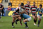 Josh Levi tackles Niva Ta'auso. Air NZ Cup week 4 game between the Counties Manukau Steelers and Northland played at Mt Smart Stadium on the 19th of August 2006. Northland won 21 - 17.